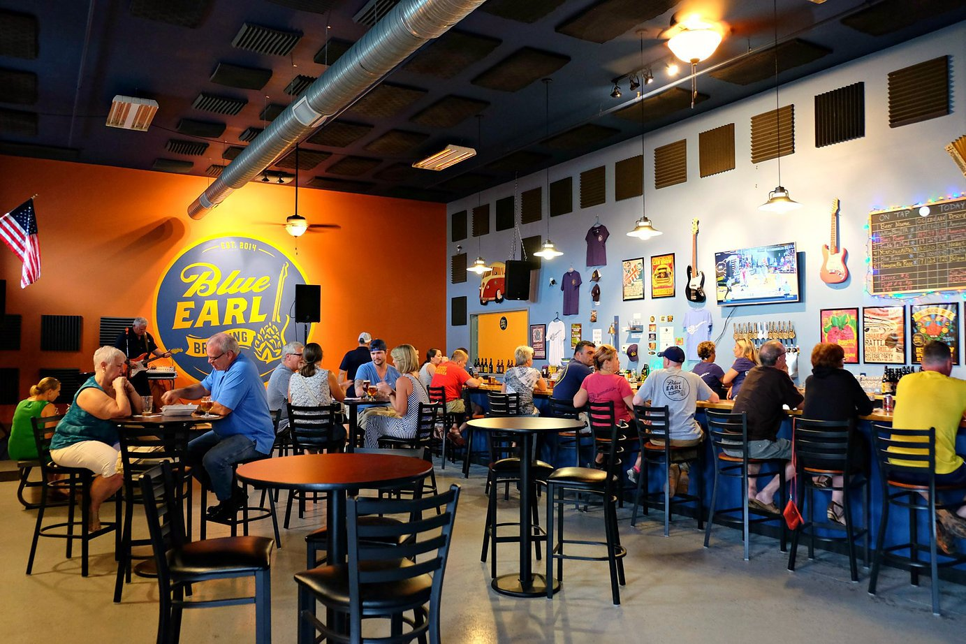 The Taproom at Blue Earl Brewing