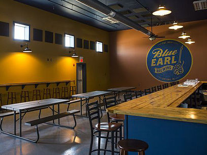 The Taproom at Blue Earl Brewery