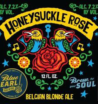 Honeysuckle Rose -- Blue Earl