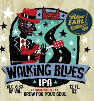 Walking Blues IPA -- Blue Earl