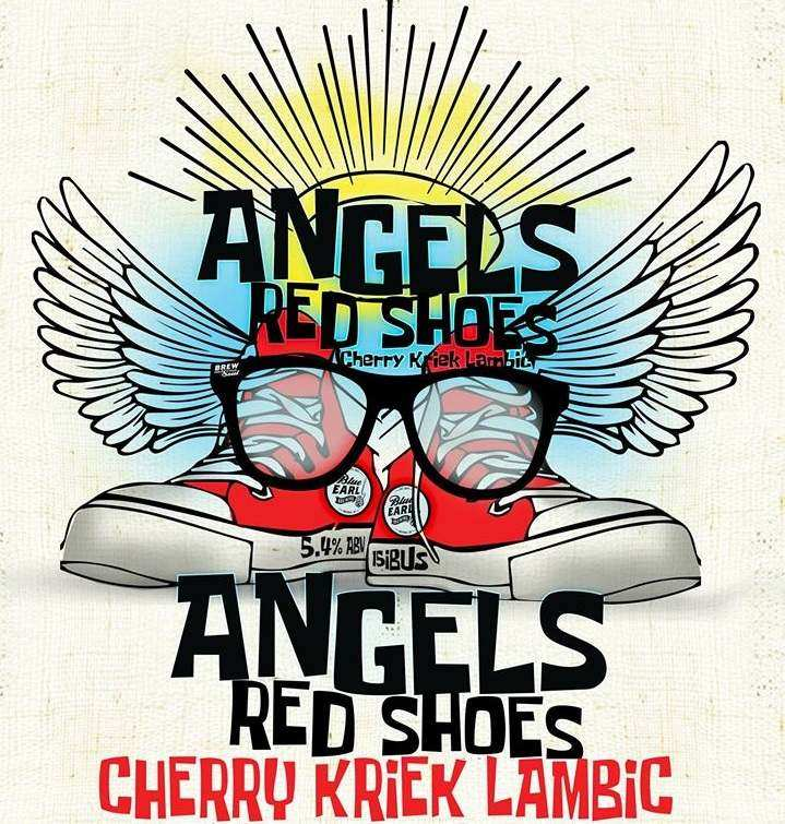 Angels Red Shoes