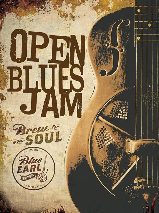 Open Blues Jam at Blue Earl