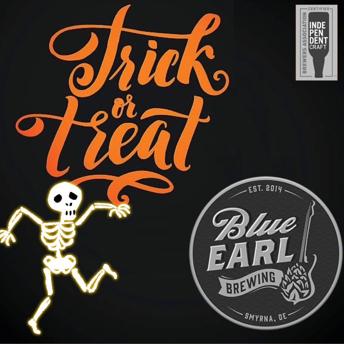 Trick or Treat - Blue Earl Beer