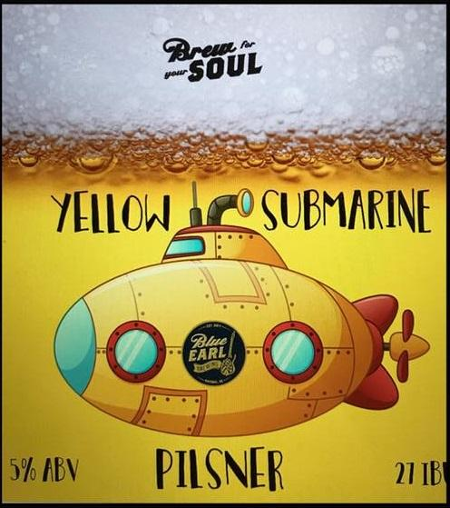 Yellow Submarine Pilsner - Blue Earl Brewing